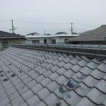 雨漏り対策修理工事(漆喰工事&板金工事)ビフォーアフター (神戸市)