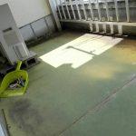 ベランダ防水工事 ビフォーアフター (明石市)