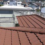和瓦から軽量屋根材Tルーフ(T-ROOF) 屋根葺き替え工事 ビフォーアフター(神戸市)