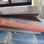 雨漏り修理板金工事 ビフォーアフター (明石市)