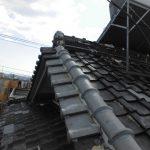 台風、雨漏り対策修理工事(瓦差し替え&ラバーロック工法) ビフォーアフター(神戸市)
