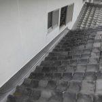 屋根メンテナンス工事(谷板金交換工事)ビフォーアフター(明石市)