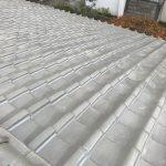台風、雨漏り対策修理工事(屋根葺き戻し工事&ラバーロック工法) ビフォーアフター(神戸市)