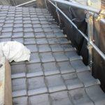 台風、雨漏り対策修理工事(屋根葺き戻し工事) ビフォーアフター(高砂市)