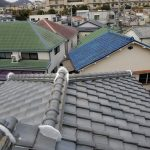 雨漏り対策修理工事(棟積み直し&縦ラバーロック工法)ビフォーアフター(神戸市)