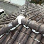 台風、雨漏り対策修理工事(棟積み直し工事)ビフォーアフター(三田市)