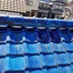 台風、雨漏り対策修理工事(屋根葺き戻し工事) ビフォーアフター(神戸市)