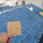 屋根メンテナンス工事(瓦差し替え&漆喰工事)ビフォーアフター (神戸市)
