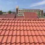 屋根メンテナンス工事(漆喰&板金&棟積み直し工事)ビフォーアフター(神戸市)