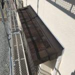 板金庇からルーガ(ROOGA)へ屋根葺き替え工事 ビフォーアフター(加古川市)