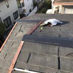 雨漏り対策修理工事 屋根板金工事 ビフォーアフター (神戸市)