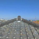 台風、雨漏り対策修理工事(瓦差し替え&棟積み直し&谷交換工事)ビフォーアフター(神戸市)