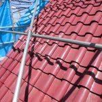 台風、雨漏り対策修理工事(屋根葺き戻し工事) ビフォーアフター(明石市)