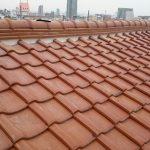 屋根メンテナンス工事(漆喰工事)ビフォーアフター(神戸市)