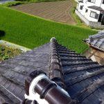 屋根メンテナンス工事(棟積み直し&漆喰工事)ビフォーアフター(明石市)