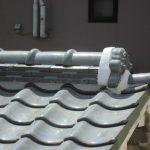 雨漏り対策修理工事(谷交換&棟積み直し工事)ビフォーアフター(明石市)
