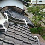 屋根メンテナンス工事(漆喰工事)ビフォーアフター(多可郡)