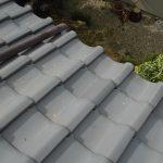 台風、雨漏り対策修理工事(瓦差し替え)ビフォーアフター(神戸市)