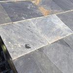 台風、雨漏り対策修理工事(天然石瓦差し替え)ビフォーアフター(加古川市)