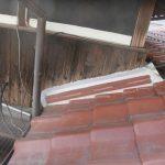 雨漏り対策修理工事(瓦の積み直し&外壁補修工事)ビフォーアフター(明石市)