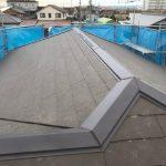 屋根葺き替え・雨樋交換・外壁塗装工事 ビフォーアフター(神戸市)
