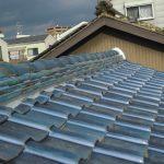 屋根メンテナンス工事(棟積み直し及び縦ラバーロック工法)(大阪府)