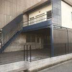 階段塗装および波板交換工事(神戸市)