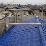 屋根葺き替え工事(和瓦【青緑】~釉薬和瓦【青緑】へ)(加古郡)