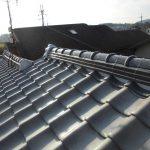 雨漏り対策修理工事(和瓦の棟積み替え工事)(加古川市)