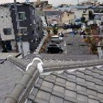 【地震・台風】災害工事(和瓦棟積み直し及び縦ラバーロック工法)(尼崎市)