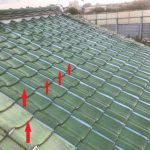 大屋根雨漏り箇所部分葺き替え及び玄関屋根工事(明石市)