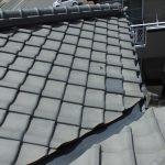 屋根メンテナンス工事(谷板金交換および和瓦、漆喰工事)(明石市)
