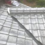 屋根メンテナンス工事(漆喰及び谷板金交換工事)(明石市)