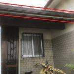 玄関上樋交換工事ビフォーアフター(明石市)