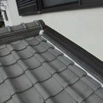 屋根メンテナンス工事(本棟積み直し・壁際捨て板板金取付け・漆喰工事)(加古川市)
