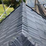 セメント棟瓦取り合いコーキング工事(加古川市)