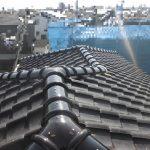 雨漏り補修・屋根メンテナンス工事(丸瓦一発仕上げ)(明石市)
