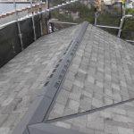 屋根葺き替え工事(和瓦からリッジウェイへ)(神戸市)
