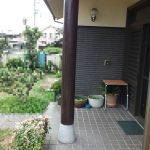 玄関柱改修工事(神戸市)