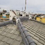 雨漏り補修工事【棟積み替え、積み直し】(明石市)